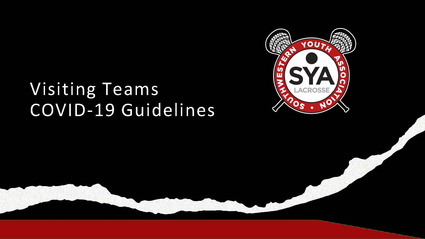 Visiting Team Guidelines