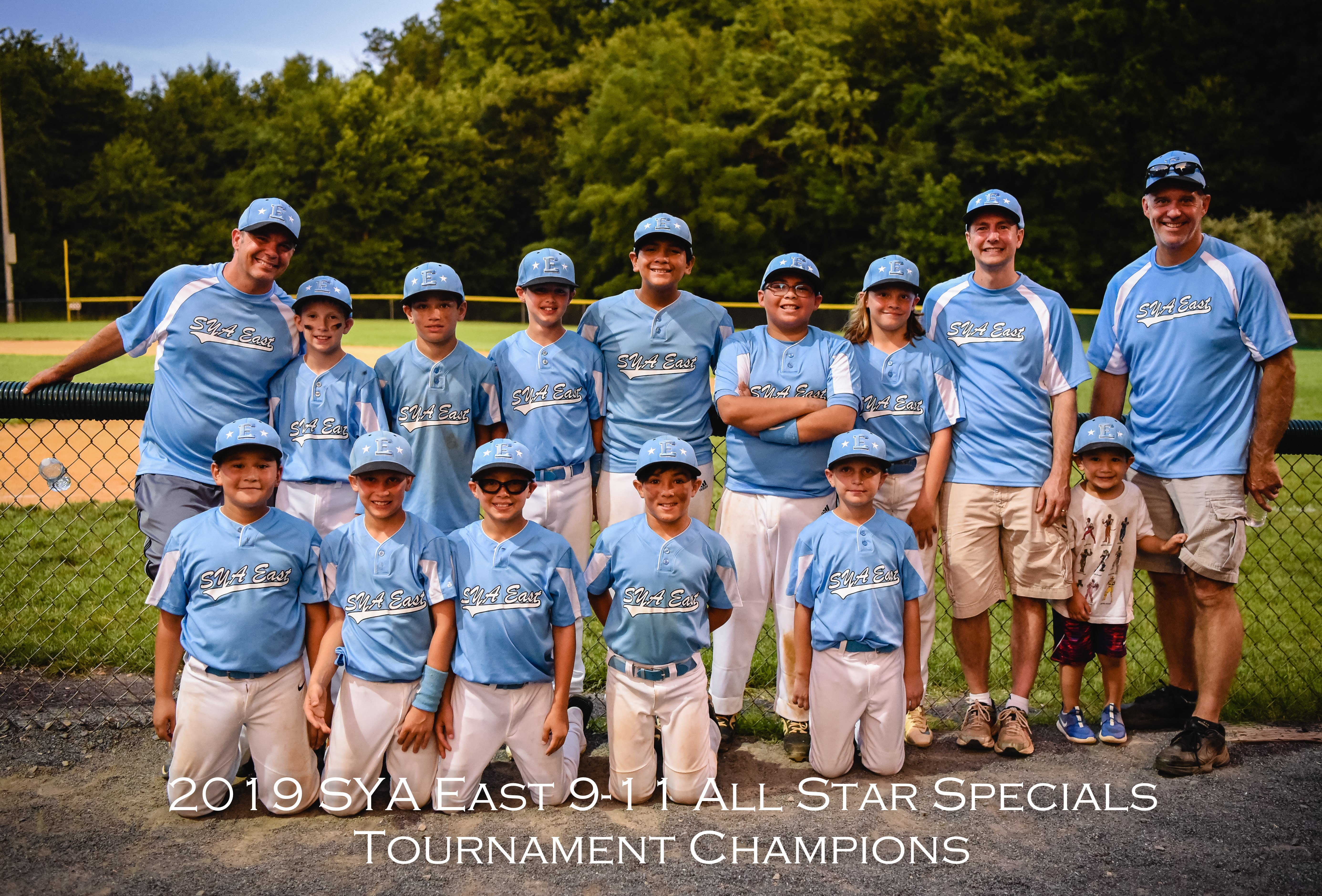 SYA East 9-11 Minors Wins Special Games Tournament