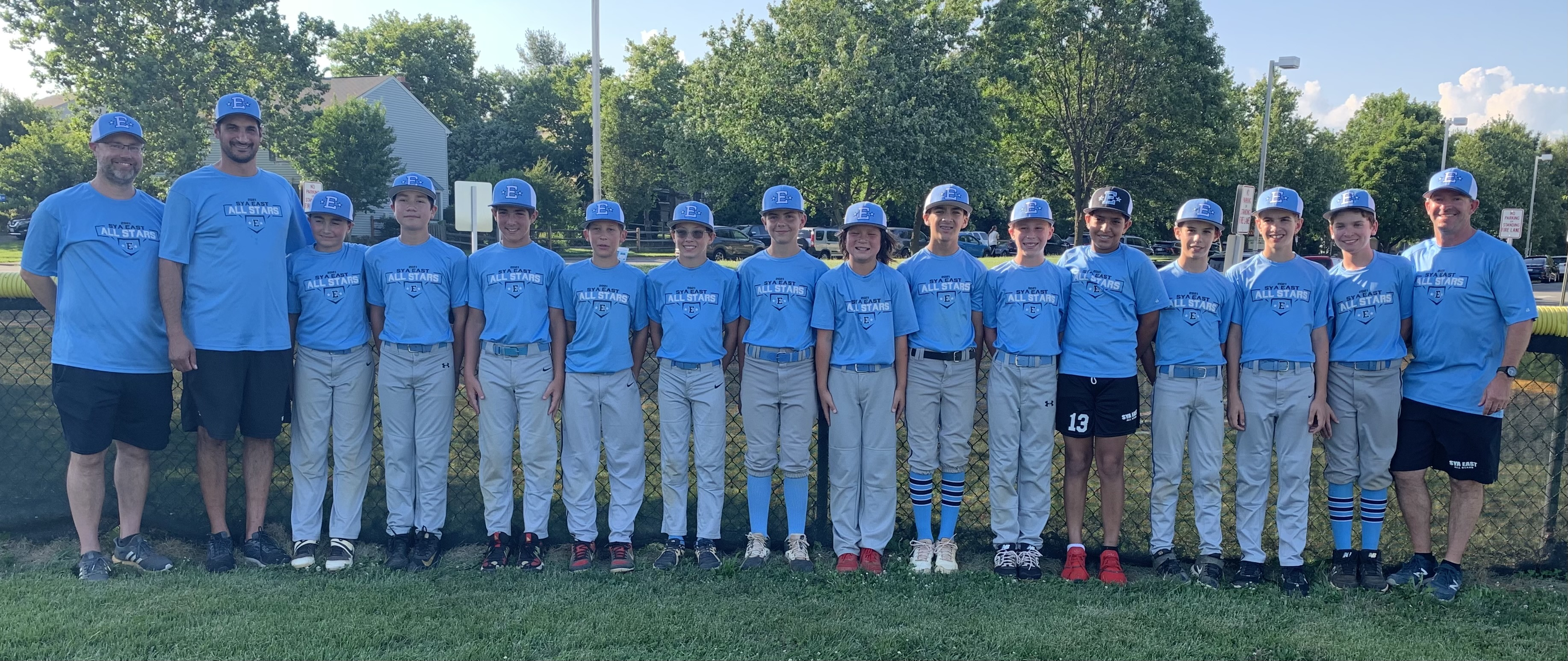 2021 All Stars - SYA East Majors Heads to States in Vienna!
