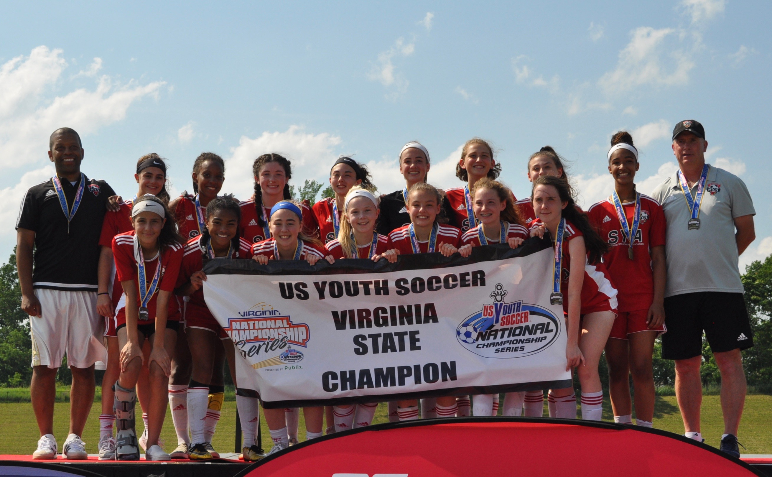 '05 Girls Red Win State Cup Title!
