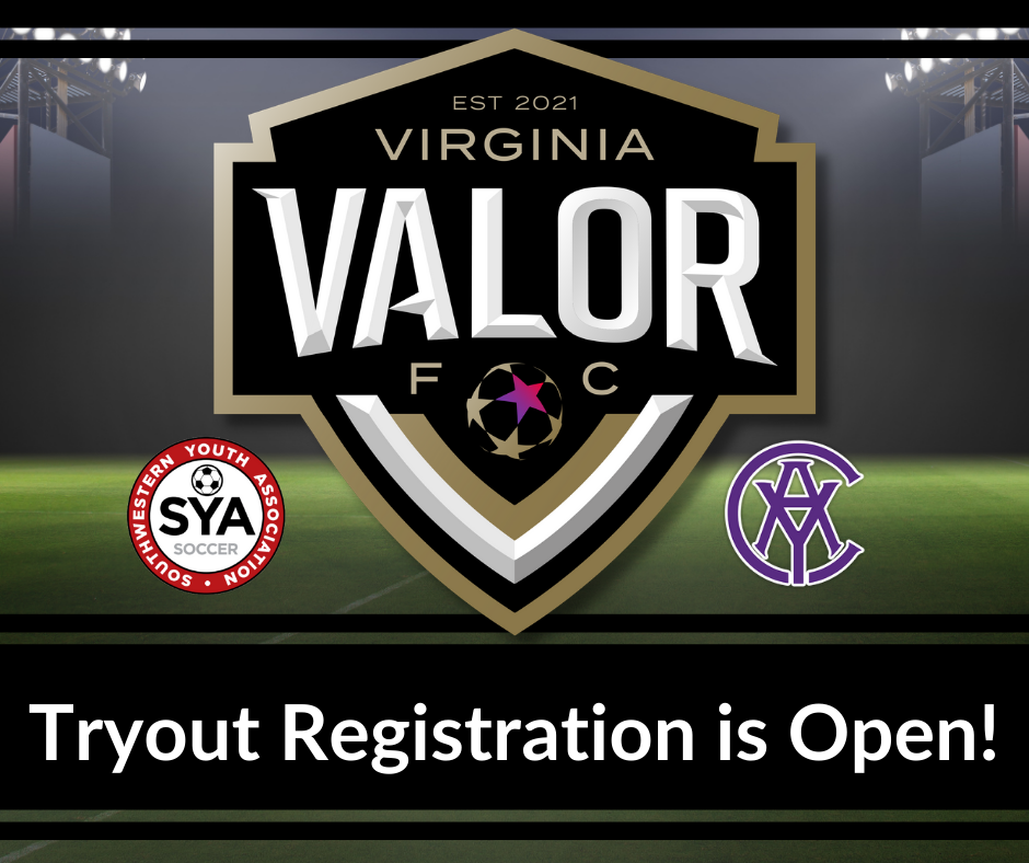 Virginia Valor FC Tryouts Announced!