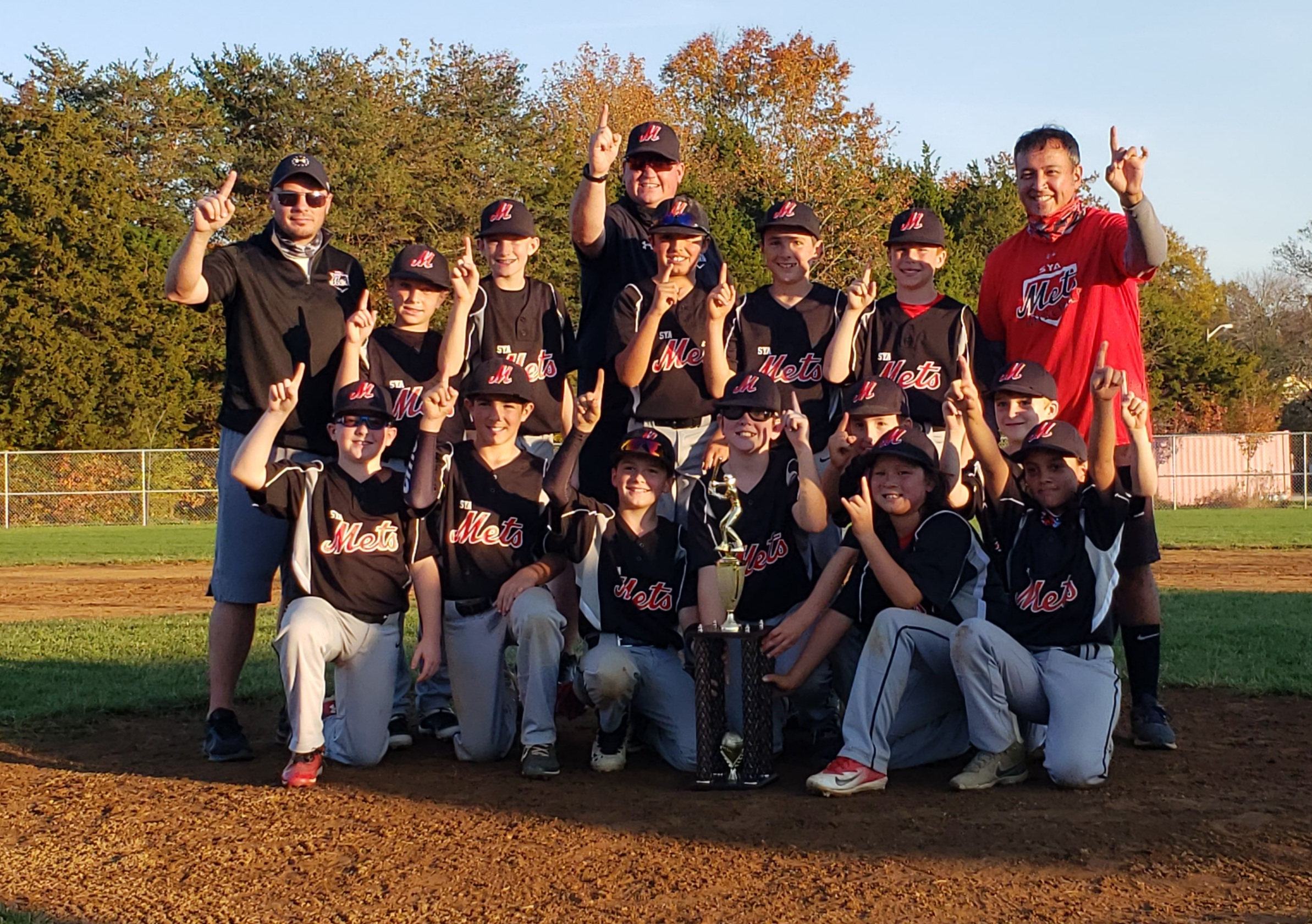 Mets 11u Win NVTBL Fall Tournament