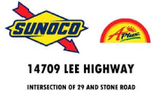 Sunoco - 14709 Lee Highway, Intersection of 29 & Stone Road